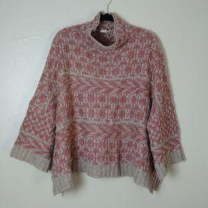 Mystree Chunky Asymmetrical Sweater Sz XL